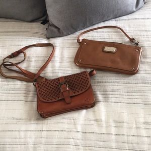 Nine West wristlet & Patricia Nash small purse